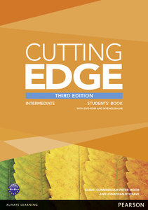 Cutting Edge Intermediate Students' Book with DVD and MyEnglishL