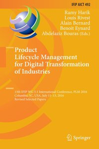 Product Lifecycle Management for Digital Transformation of Indus
