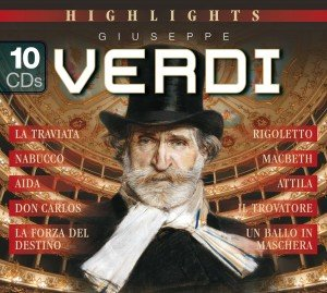 Highlights-Giuseppe Verdi (200 Jahre)