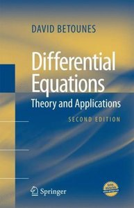 Differential Equations: Theory and Applications