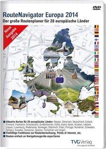 RouteNavigator Europa 2014/DVD-ROM