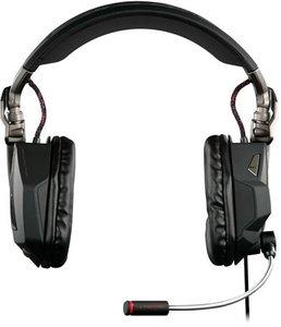 F.R.E.Q. 5 Stereo-Spiele-Headset für PC und Mac, gloss black