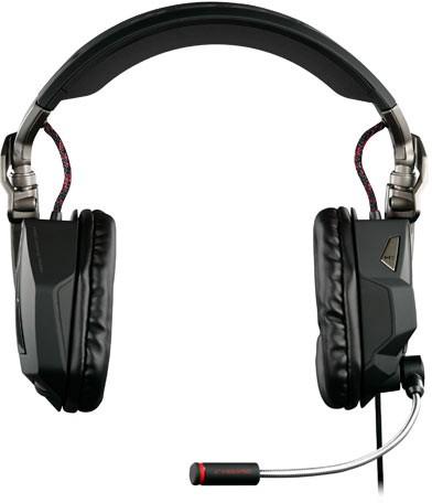 F.R.E.Q. 5 Stereo-Spiele-Headset für PC und Mac, gloss black - zum Schließen ins Bild klicken