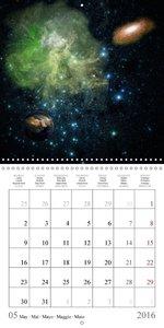 Les étranges lumières de l'univers (Calendrier mural 2016 300 ×