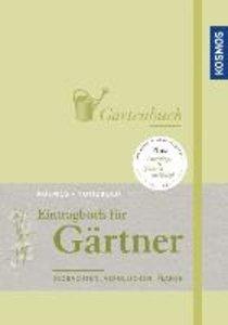 Eintragbuch für Gärtner