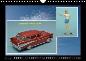 Cars and Pin-ups - Classic American Model Cars / UK-Version (Wal