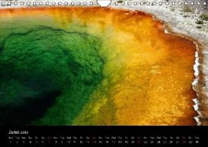 The Yellowstone National Park - UK Version (Wall Calendar 2015 D
