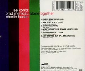 Alone Together/Live At Jazz Bazz Bakery