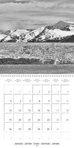 Glaciers of Argentina (Wall Calendar 2015 300 × 300 mm Square)