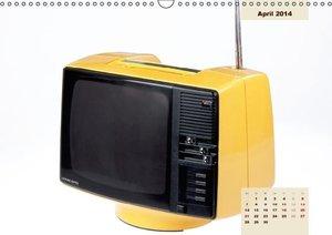 In die Röhre geguckt: Nostalgische Fernseher (Wandkalender 2014
