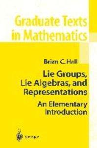 Hall, B: Lie Groups