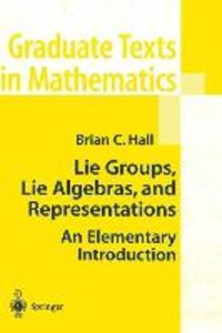 Hall, B: Lie Groups