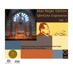 Max Reger Ed.-Sämtliche Orgelwerke 1