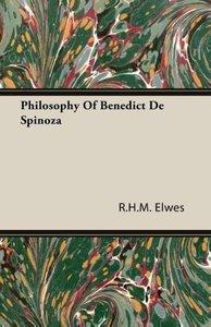 Philosophy Of Benedict De Spinoza