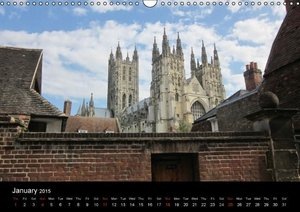 Kent, England / UK-Version (Wall Calendar 2015 DIN A3 Landscape)