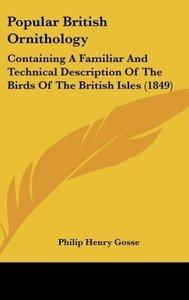Popular British Ornithology