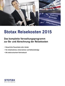 Stotax Reisekosten 2015