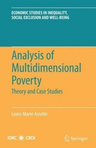 Analysis of Multidimensional Poverty
