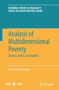 Analysis of Multidimensional Poverty
