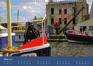 Auf dem Shannon - Mit dem Boot durch Irland (Wandkalender 2017 D