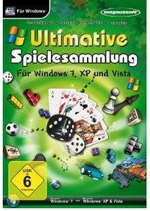 Ultimative Spielesammlung für Windows 7, XP und Vista