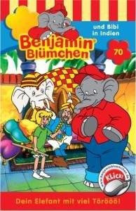 Benjamin Blümchen 070 und Bibi in Indien. Cassette