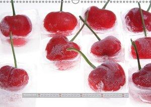 Ice Cold Fruits / UK-Version (Wall Calendar 2015 DIN A3 Landscap
