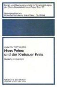 Hans Peters und der Kreisauer Kreis