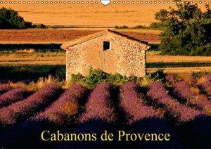 Cabanons de Provence (Calendrier mural 2015 DIN A3 horizontal)