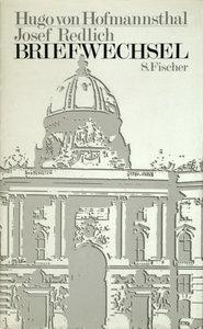 Briefwechsel Hofmannsthal / Redlich