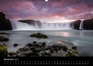 Island Impressionen von Armin Fuchs (Wandkalender 2016 DIN A2 qu