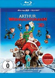 Arthur Weihnachtsmann 3D