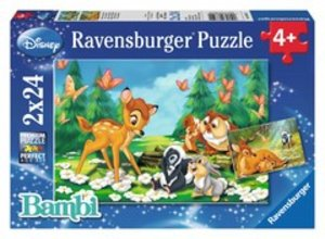 Mein Freund Bambi. Puzzle 2 X 24 Teile