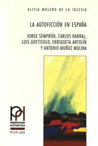 La autoficción en España
