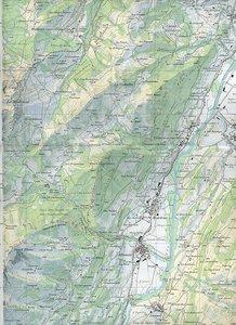 Swisstopo 1 : 25 000 Château-d'Oex