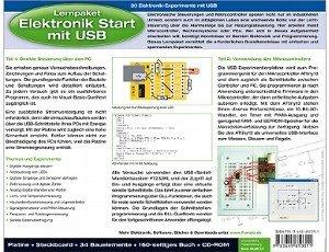 Lernpaket Elektronik Start mit USB