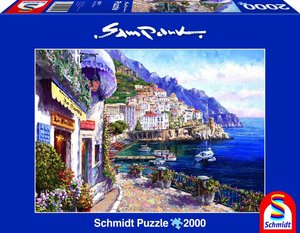 Amalfi am Nachmittag. Puzzle