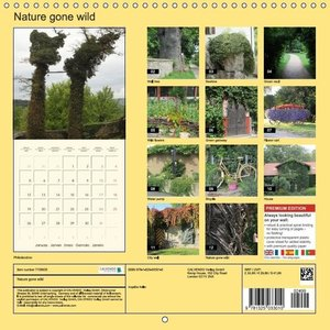 Nature gone wild (Wall Calendar 2015 300 × 300 mm Square)