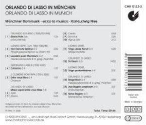Orlando Di Lasso In München