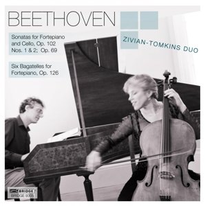 Sonatas for Fortepiano and Cello,op.102/Six Baga