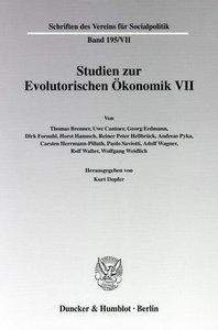 Studien zur Evolutorischen Ökonomik / Evolutorische Ökonomik - M