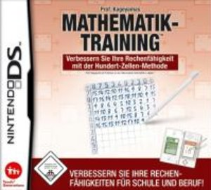 Prof. Kageyamas Mathematik Training. Nintendo DS