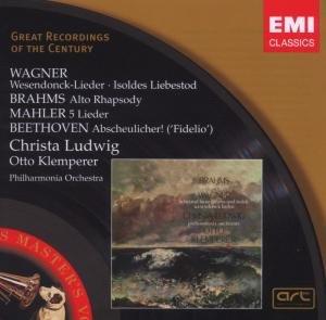 Ludwig, C: Wesendonck-Lieder/Alt-Rhaps.