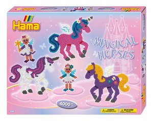 Hama 3138 - Bügelperlen Geschenkpackung Zauberhafte Pferde