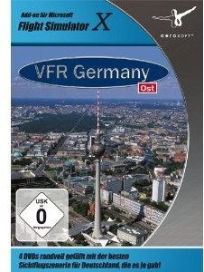 Flight Simulator X - VFR Germany 4:Ost
