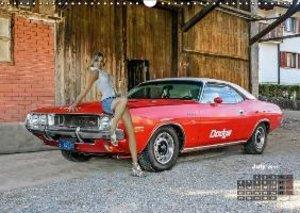 Girls and Cars (Wall Calendar 2015 DIN A3 Landscape)