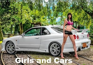 Girls and Cars (Wall Calendar 2015 DIN A3 Landscape)