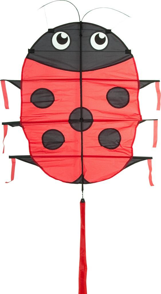 Invento 106902 - Flapping Lillie Ladybug, Marienkäfer Drachen - zum Schließen ins Bild klicken