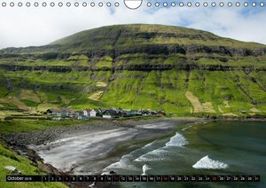 Faroe Islands / UK-Version (Wall Calendar 2015 DIN A4 Landscape)