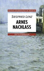 Arnes Nachlaß. Text und Kommentar